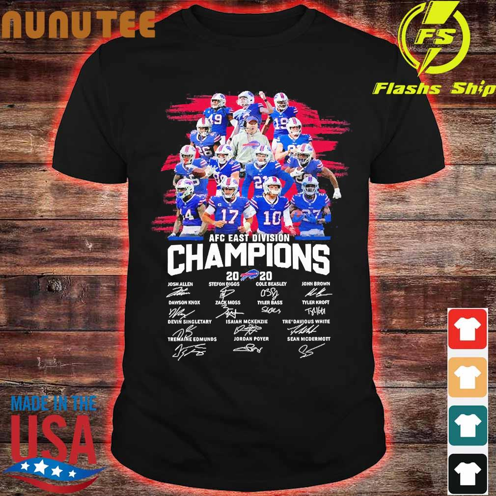 This Buffalo Bills 2020 AFC East Division Champions long sleeve T-Shirt