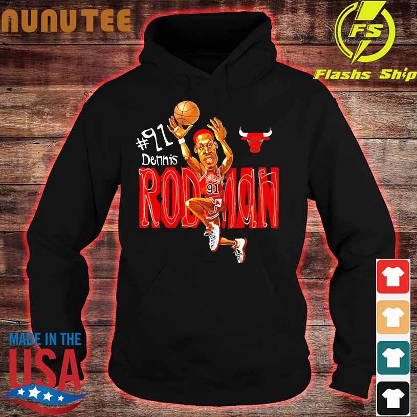 #91 dennis Rodman s hoodie