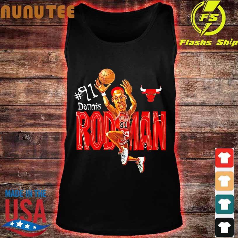 #91 dennis Rodman s tank top
